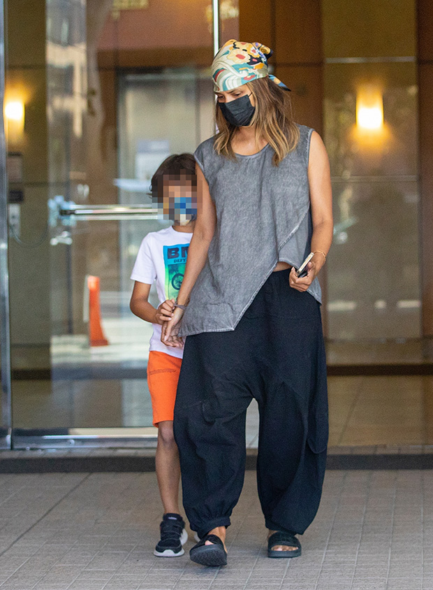 Halle Berry & son Maceo