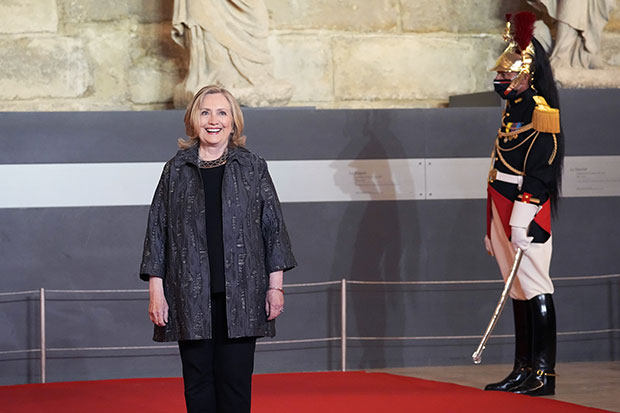 hillary clinton on the view shutterstock embed