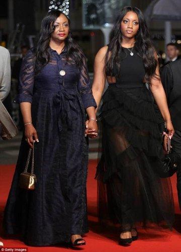 Сводные сестры Уитни Хьюстон на Каннском кинофестивале 2018