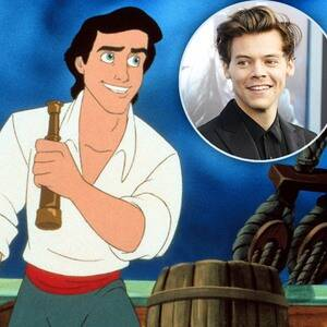 """Гарри Стайлс будет играть принца Эрика в """"Русалочке"""" Диснея в паре с афроамериканской, юной актрисой Хэлли Бейли? Что мы знаем?"""