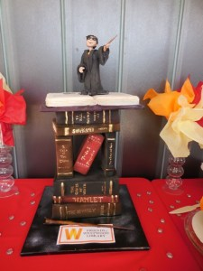 Bookish type...Harry Potter book cake by Cake and Art Bakery. Photo courtesy of HPC