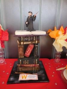 Bookish type...Harry Potter book cake by Cake and Art Bakery. Photo courtesy of HPC