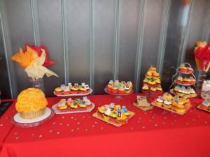 Tasty cupcakes from Delphi Greek's award-winning pastry chef Rana Pourarab. Photo courtesy of HPC