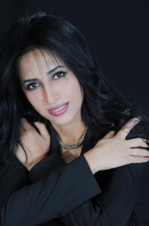 Elham Yaghoubian, founder and director of the author's club,  as well  human rights activist, fashion designer and a noted author herself. Photo courtesy of Abbas Hojatpanah