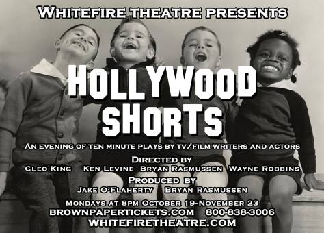 Flyer for Hollywood Shorts