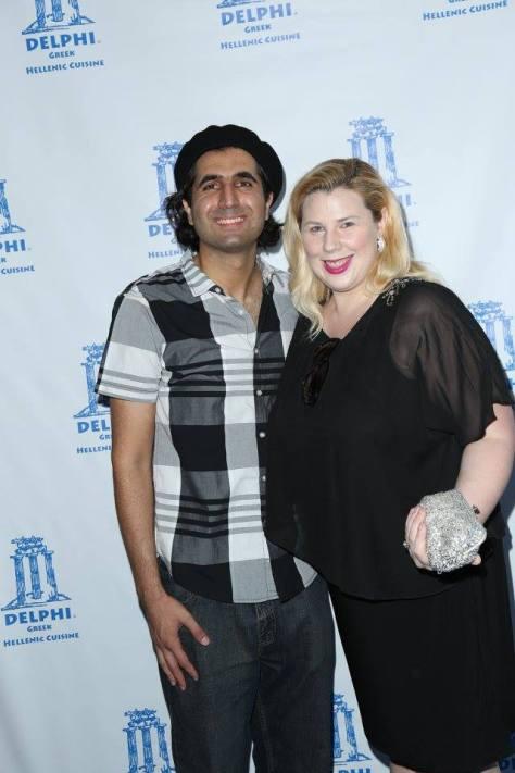 Armin Nasseri and Kristin West of Seeking Valentina