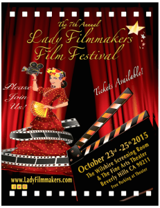 Lady Filmmakers event poster