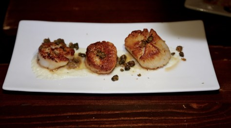 Seared Scallops were unbelievably delicious Photo courtesy of Judy Hansen Pullos