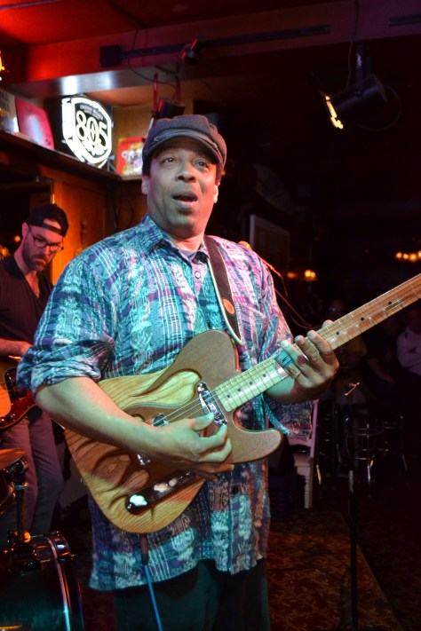 Lionel Young at the Sugar Mill Saloon. Photo by Judy Hansen Pullos