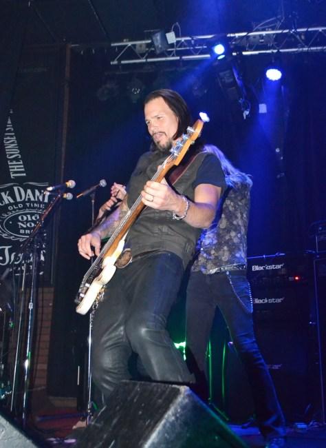 Sean McNabb tearing up the strings Photo courtesy of Judy Hansen Pullos