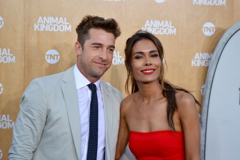 "Scott Speedman (Barry ""Baz"" Blackwell) and Daniella Alonzo (Catherine)"