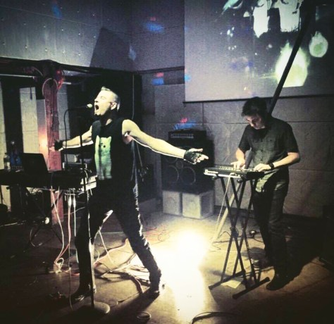 The ALACRITY performing live in Tokyo, Japan
