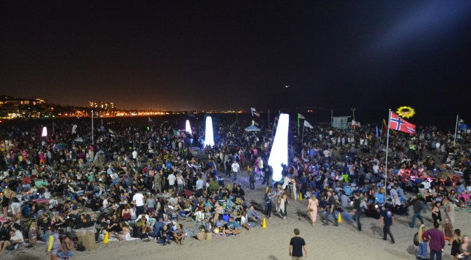 Incredible Sights and Sounds at the Twilight Concert Series at the Santa Monica Pier