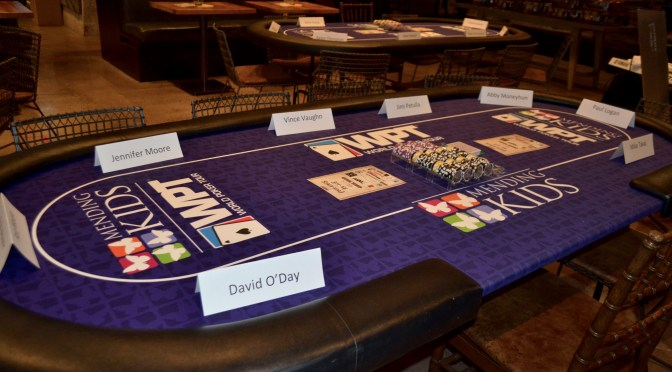 "World Poker Tour Presents ""Four Kings & an Ace"" to benefit Mending Kids International"