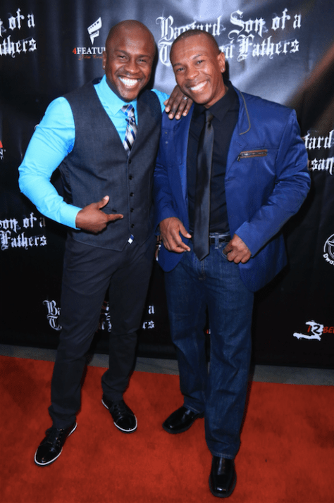 Actor-producers Tirf Alexius and Remoh Romeo