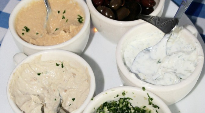 Authentic Greek Food at Delphi Greek in Westwood