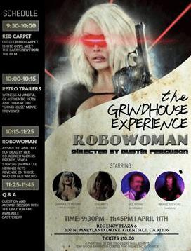 Dustin Ferguson's Revenge Thriller ROBOWOMAN Premieres at the Glendale Laemmle