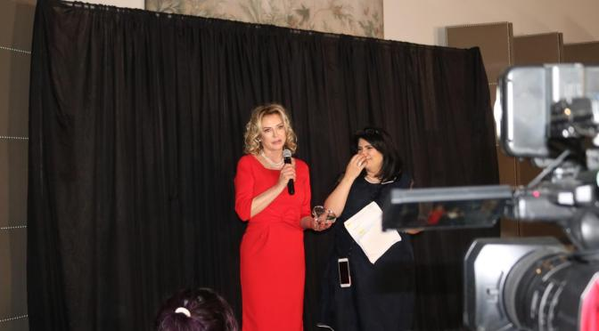 Laura T. Sharpe Received the Inaugural Love Your Body Award!