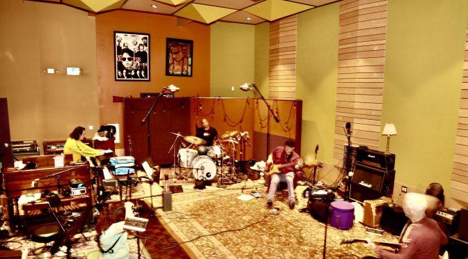The New Experience Celebrates Brandino's Birthday at Horse Latitudes Music Studio