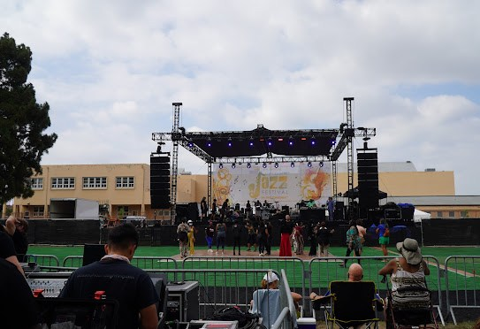 The New Experience   at the Long Beach Uptown Jazz Festival 2021