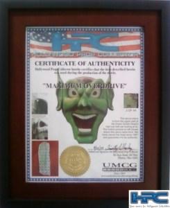Maximum Overdrive Green Goblin Head Piece 13 of 44