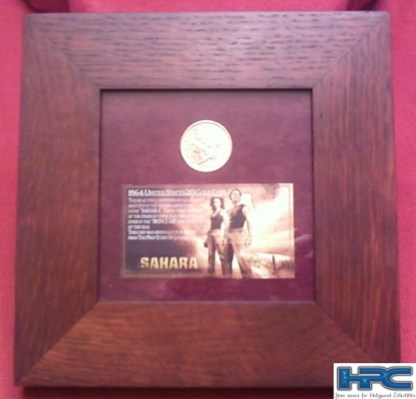 SAHARA: Metal Confederate Gold Coins - 24 of 24