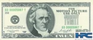 THE PUNISHER: $20.00 BILL
