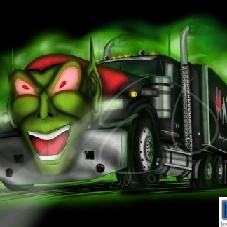 11″ x 17″ GOBLIN TRUCK POSTER - SIGNED