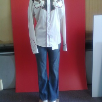 RV: Earl (Parrish) Roper Shirt - Levi Jeans Outfit