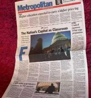 LEGALLY BLONDE 2: Bruiser's Bill - Prop Newspaper
