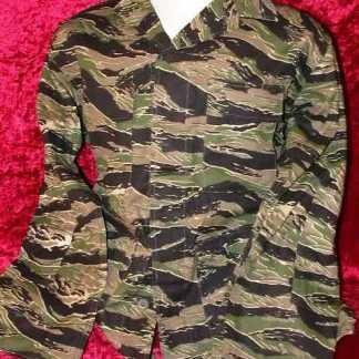 BASIC: Tiger Camo Fatigue Shirt
