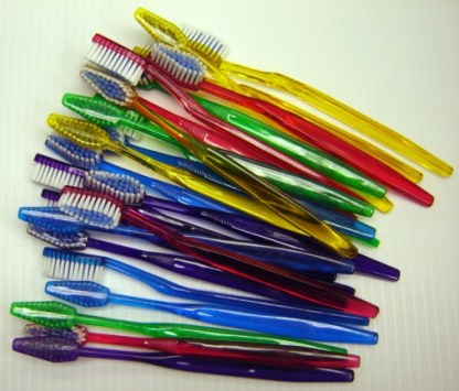 HOW HIGH: Toothbrushes