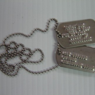 LORDS OF DOGTOWN: Montoyas Silver Dogtags