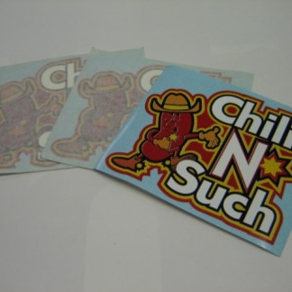 GRIND: Chili-N-Such Decals