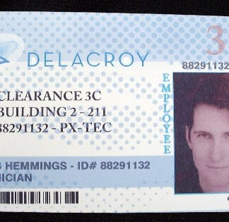 MAN OF THE YEAR: Hemmings Delacroy ID Card