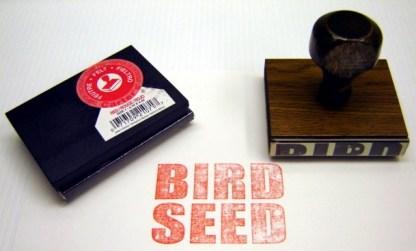 HOW HIGH: Bird Seed Stamp & Pad