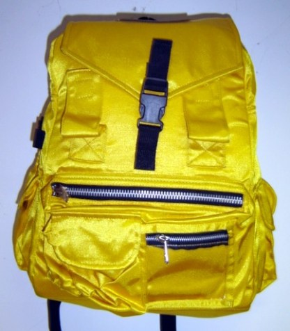 HOW HIGH: Yellow Backpack