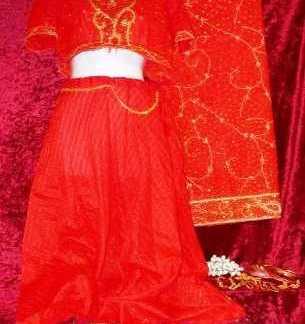 THE GURU: Female Hindi Dancer Outfit & Jewelry