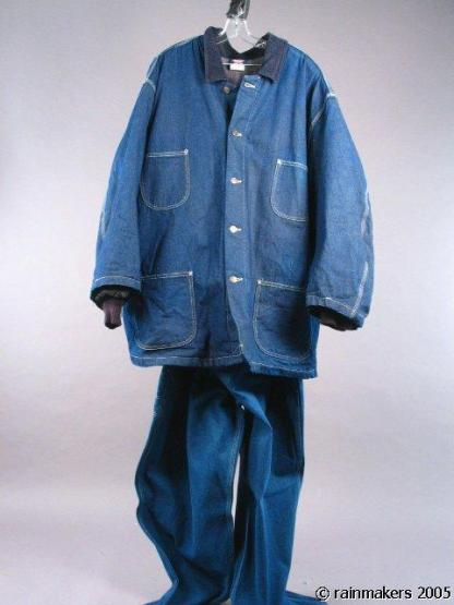 XXX: STATE OF THE UNION:  ie Denim Coat Overall