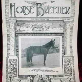 SEABISCUIT: American Horse Breeder Newspaper