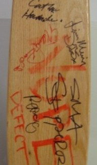 LORDS OF DOGTOWN: Autographed Skateboard Deck