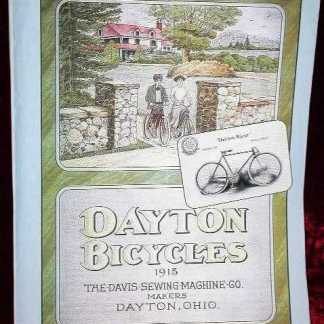 SEABISCUIT: Dayton Bicycles Magazine