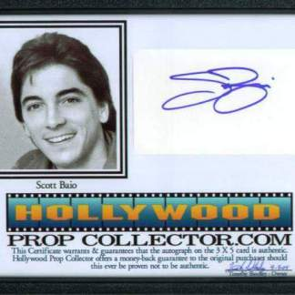 SCOTT BAIO: Framed