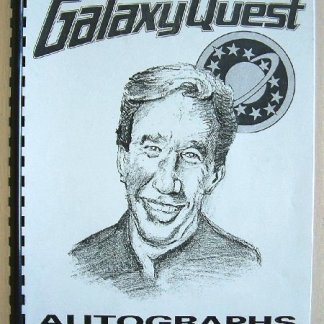 GALAXY QUEST: Prop Autograph Book