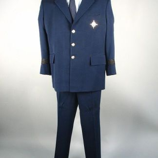 ZOOM: Larraby (Rip Torn) Military Uniform Suit