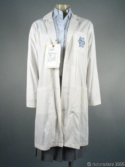 ZOOM: Marsha (Courteney Cox) Labcoat Blouse Skirt