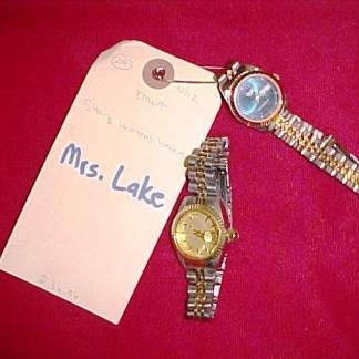 G-MEN FROM HELL: Mrs. Lakes 2 Watches