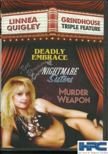 Linnea Quigley Signed DVD