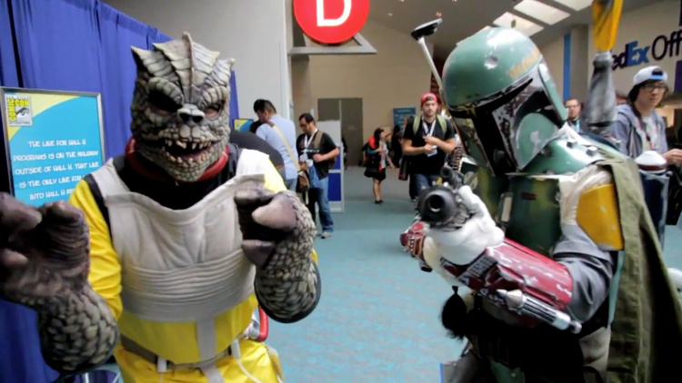 san diego comic-con cosplay It's A Trap