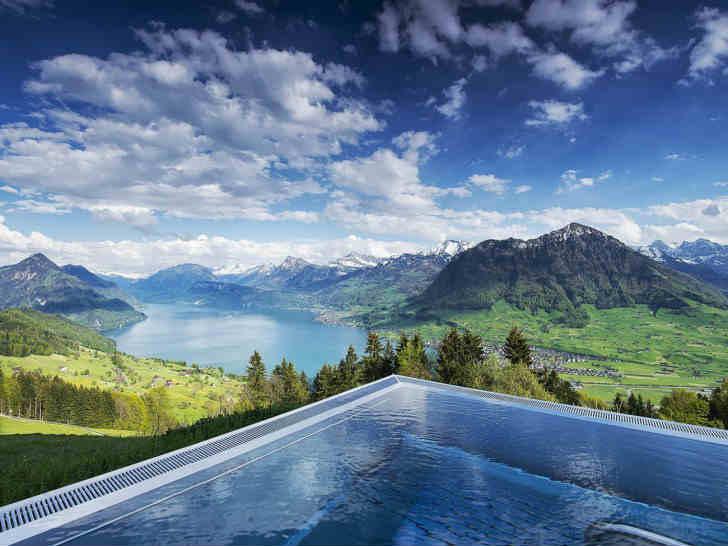 スイス 高級リゾートホテル